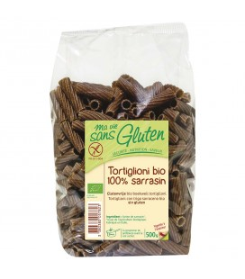 Tortiglioni bio 100% sarrasin, bio & sans gluten