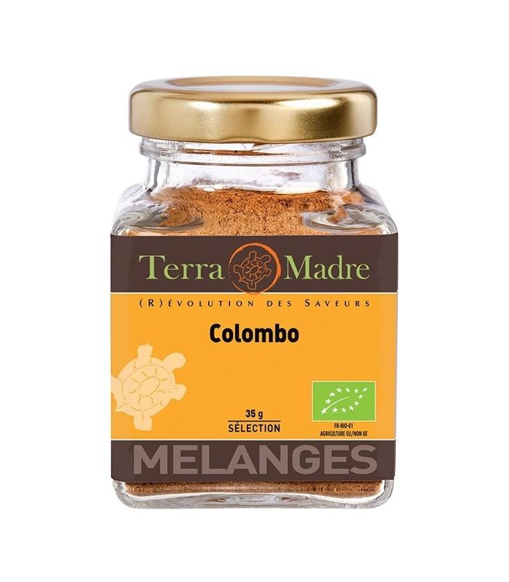 Poudre de Colombo bio