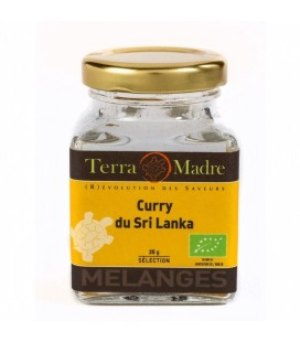 Curry du Sri Lanka bio