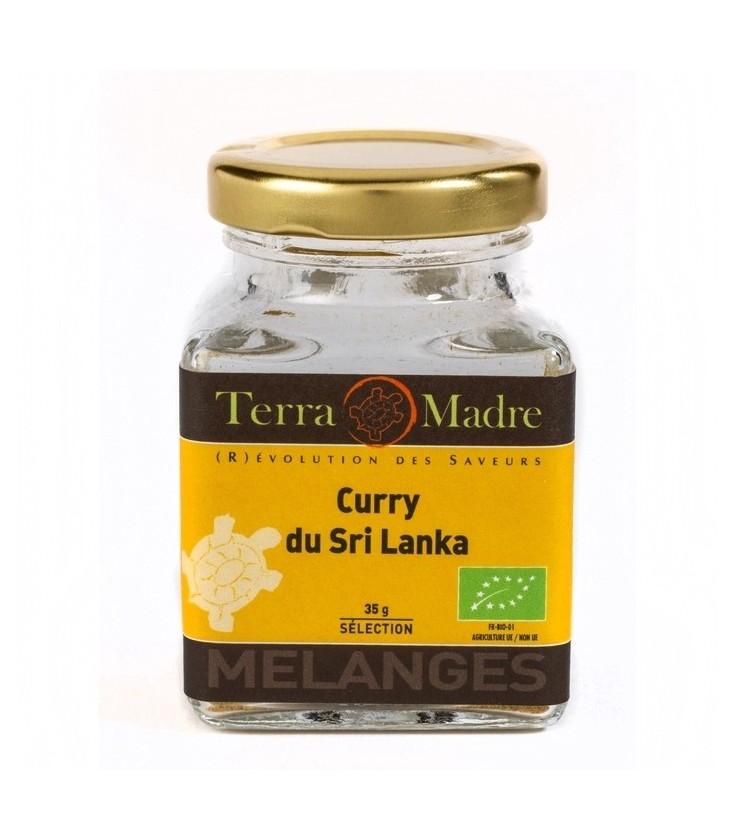 Curry du Sri Lanka bio