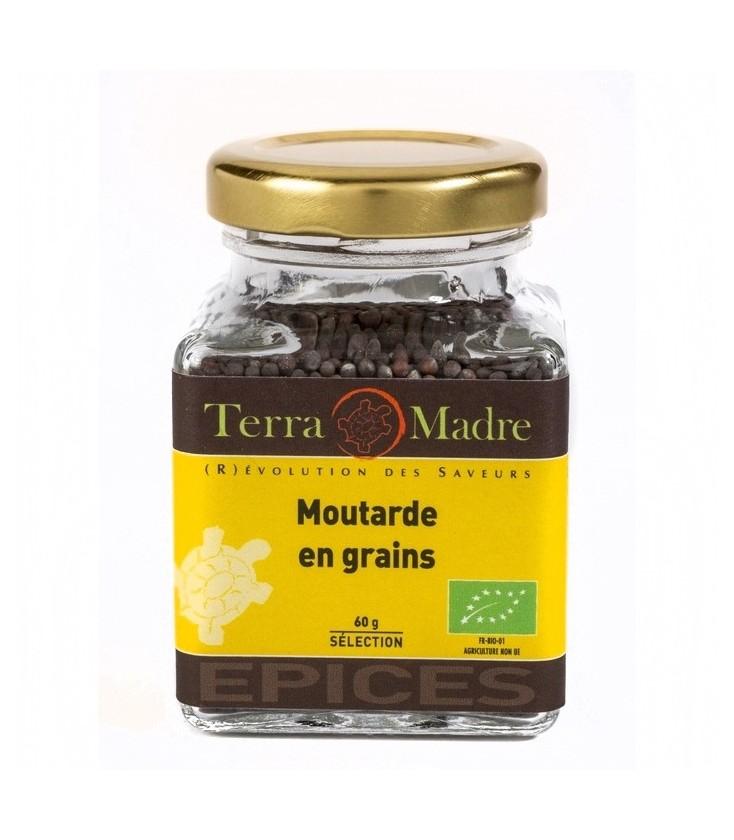 Moutarde en Grains bio