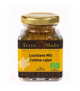 Louisiane Mix bio - Mélange d'épices Cajuns