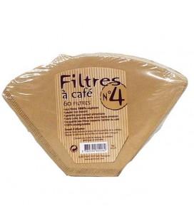 Filtres à Café N°4 aux fibres 100% végétales