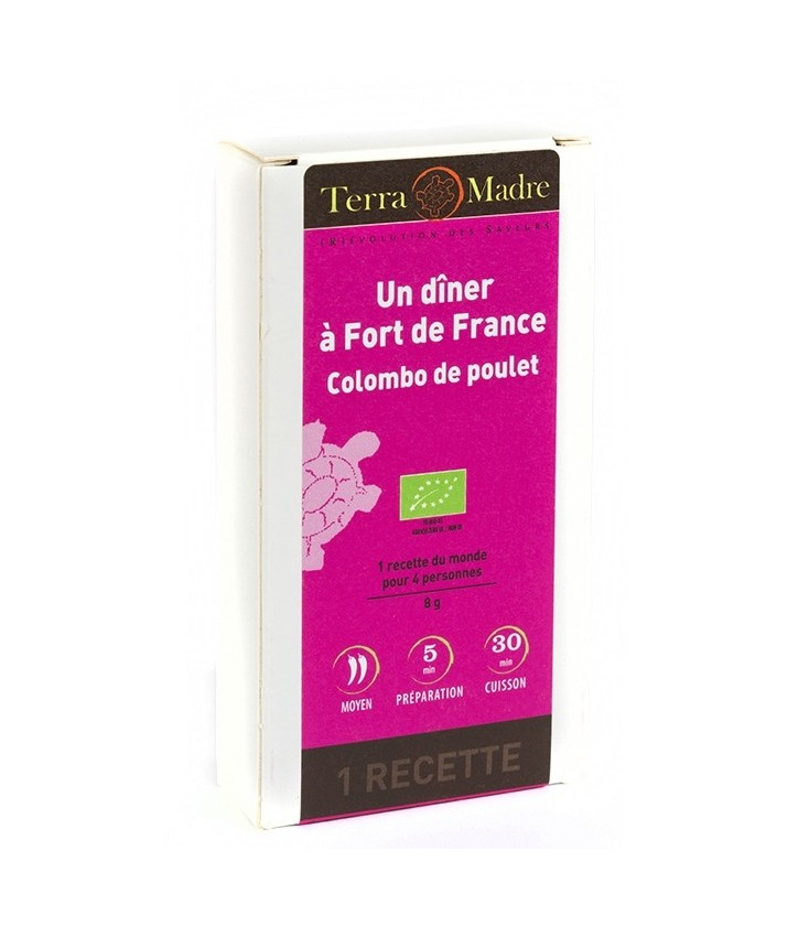 Mélange d'épices Un dîner à Fort de France