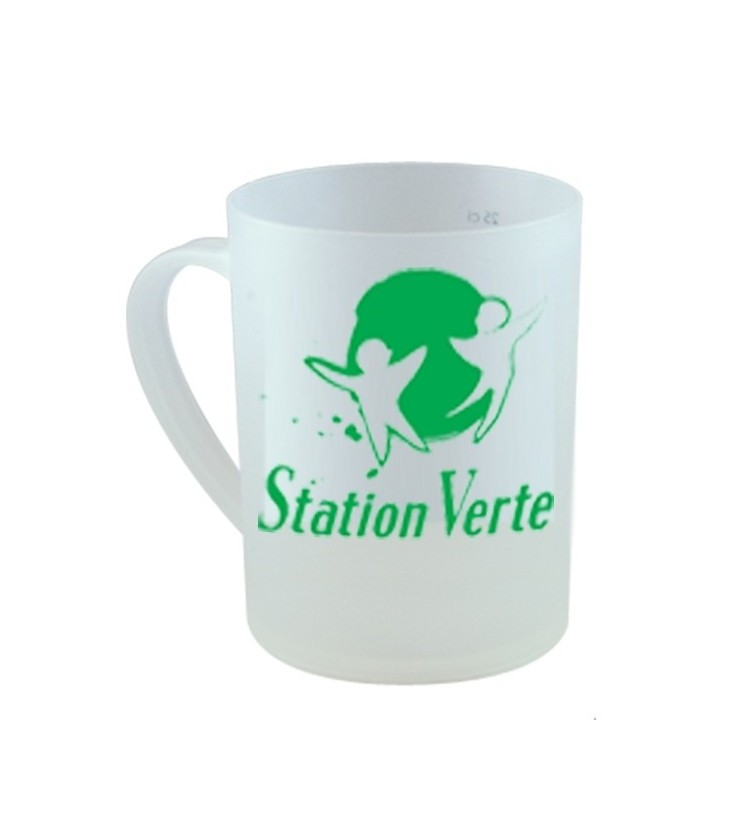 Tasse polypropylène Station Verte 30 cl