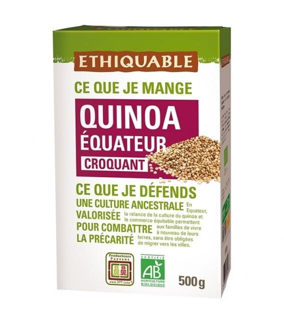 Quinoa Blond bio & équitable croquant
