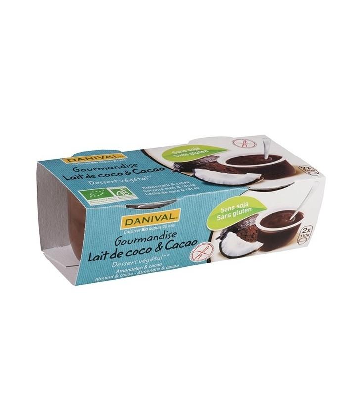 Gourmandise Lait de Coco & Cacao bio & sans gluten
