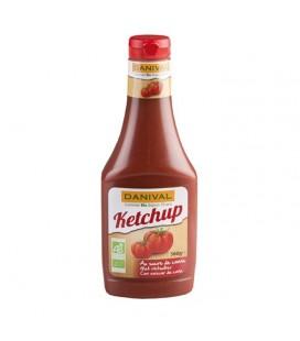 Ketchup bio au sucre de canne