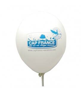 Ballon de baudruche biodégradable avec logo Chouette Nature