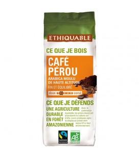 Café Pérou MOULU bio & équitable