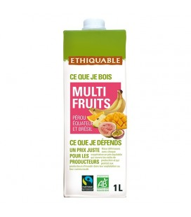 Jus Multi Fruits bio & équitable