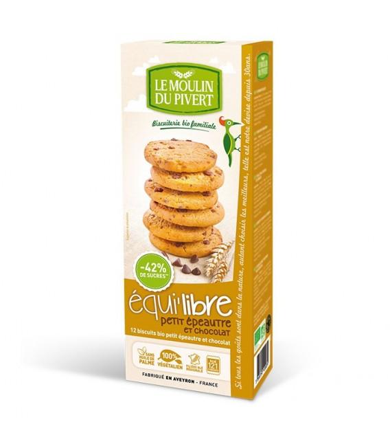 Biscuits bio Equilibre Petit Epeautre et Chocolat Bio & Vegan