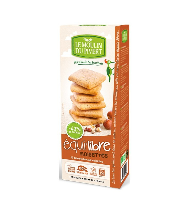 Biscuits bio Equilibre noisettes