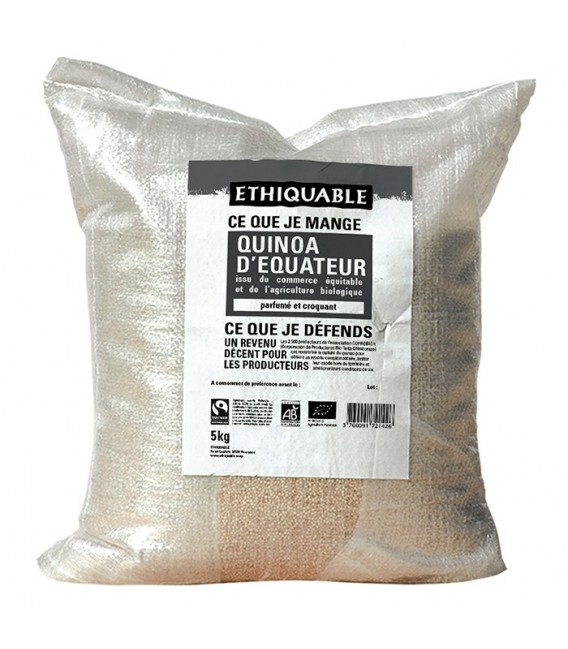 Quinoa Blond d'Équateur bio et équitable