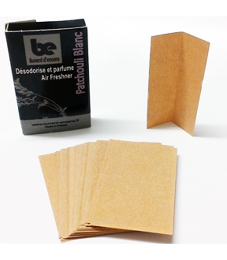 Papier Patchouli Blanc 100% français