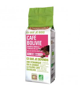 Café Bolivie MOULU bio & équitable
