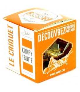 Criquets au curry fruité