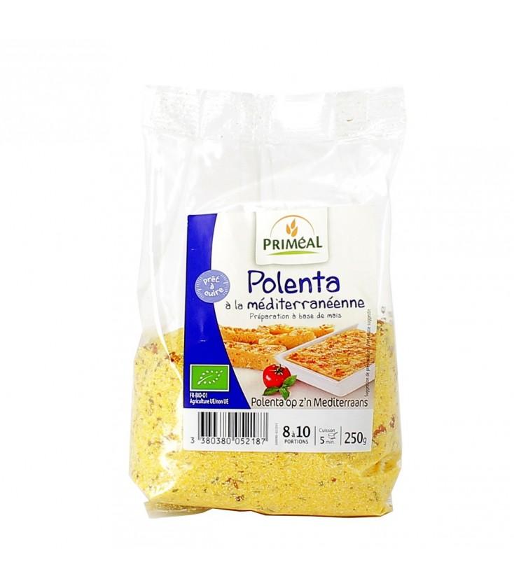 Polenta bio à la méditerranéenne