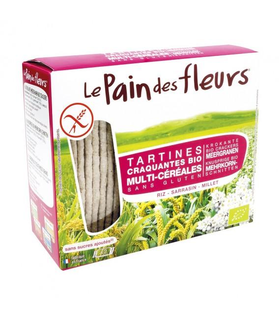 Tartines craquantes multi-céréales sans gluten bio