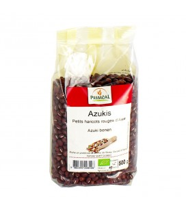 Azukis : Petits haricots rouges d'Asie bio
