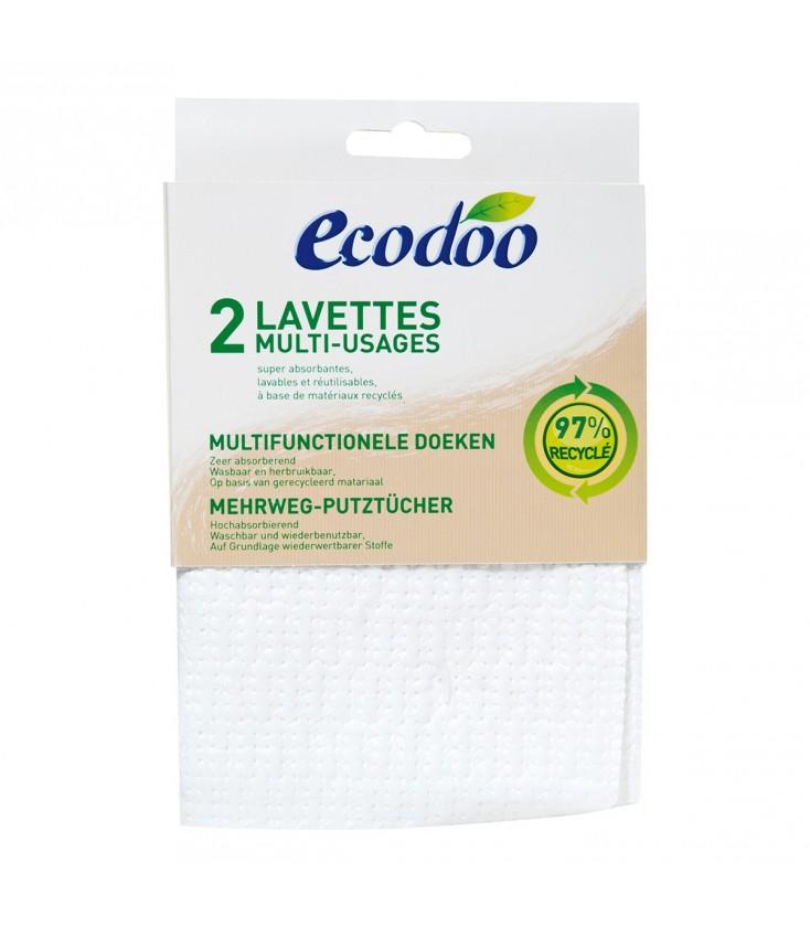 Lavettes multi-usages super absorbantes écologiques