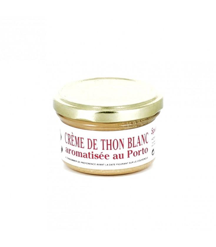 Crème de thon au Porto
