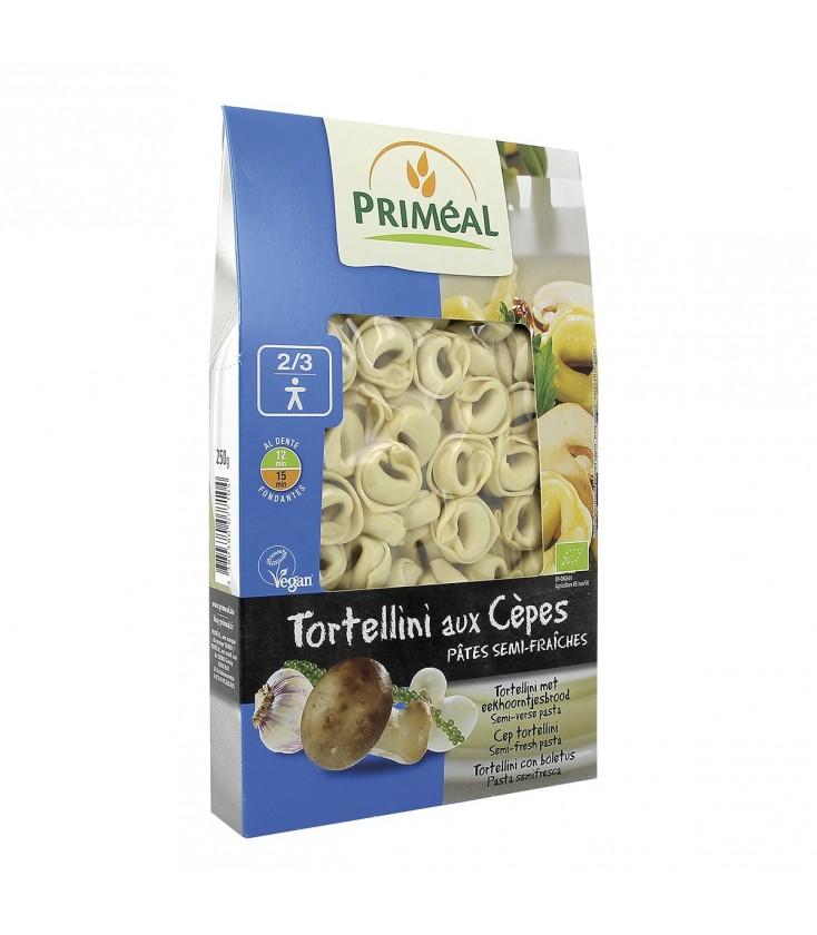 Tortellini aux cèpes bio