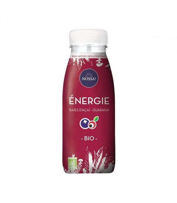 "Boisson ""Énergie"", baies d'açaí et guarana bio"