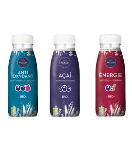 Lot de 3 boissons à l'açaí