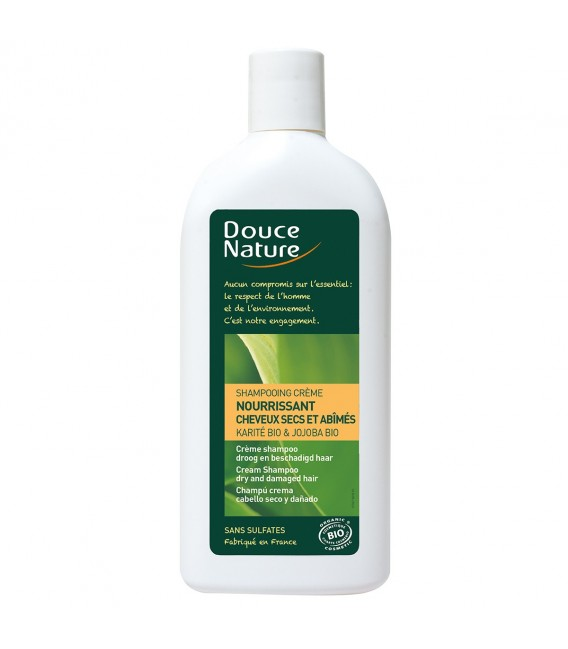 Shampooing crème nourissant bio
