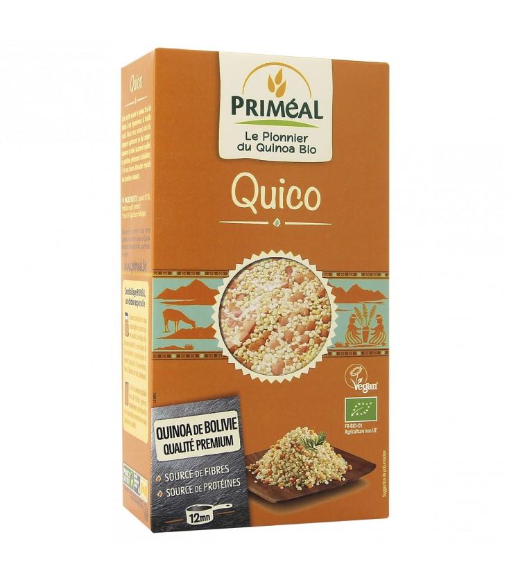 Quico : quinoa & lentilles bio et équitable