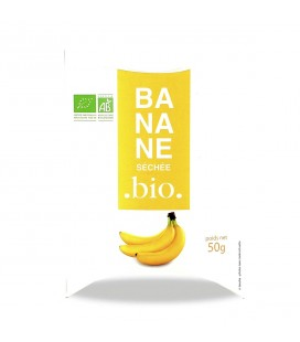 Banane séchée bio
