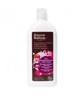 Mon shampooing douche fruits rouges bio