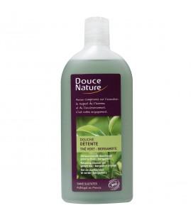 Gel douche détente au thé vert et à la bergamote bio