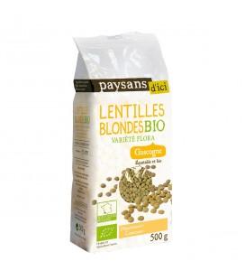 Lentilles blondes bio & équitable