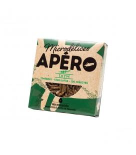 Apéro Thym aux ténébrions et aux grillons bio & naturellement sans gluten