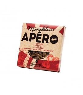 Apéro Tapas aux ténébrions et aux grillons bio & naturellement sans gluten
