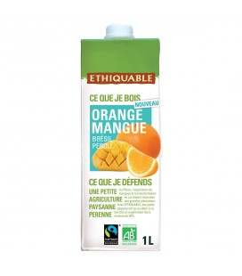 Jus Orange Mangue bio & équitable