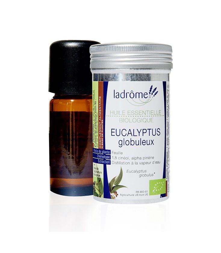 Huile essentielle d'eucalyptus globuleux bio