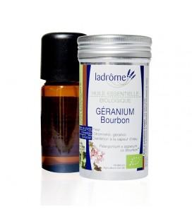 LADROME - Huile Essentielle biologique GERANIUM Bourbon