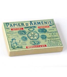 PAPIER D'ARMENIE - Boîte pour carnet de bandes à brûler
