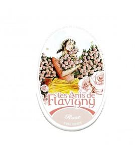 FLAVIGNY - Bonbons à l'anis parfumés à la rose