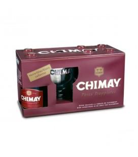 Coffret bière Chimay Rouge - Abbaye de Chimay