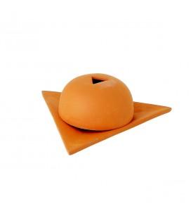 PAPIER D'ARMENIE - Brûleur étoile d'Arménie orange mate