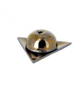 PAPIER D'ARMENIE - Brûleur étoile d'Arménie gris métallisé