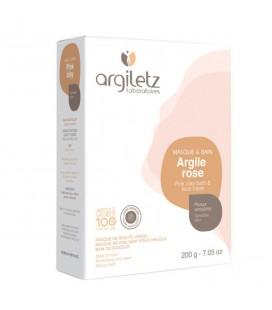 ARGILETZ - Masque & bain à l'argile rose