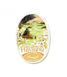 FLAVIGNY - Bonbons à l'anis parfumés à l'oranger
