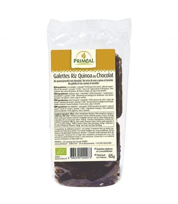 Galettes de Riz Quinoa au Chocolat noir bio