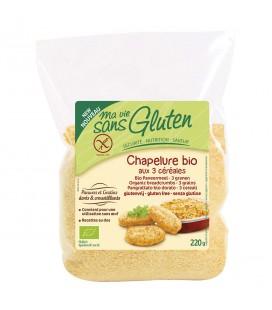 Chapelure bio aux 3 céréales sans gluten