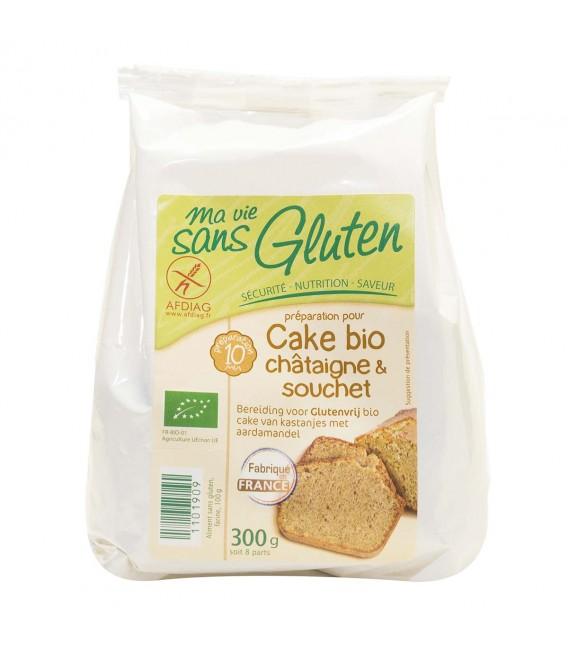 Préparation pour cake bio châtaigne & souchet bio & sans gluten